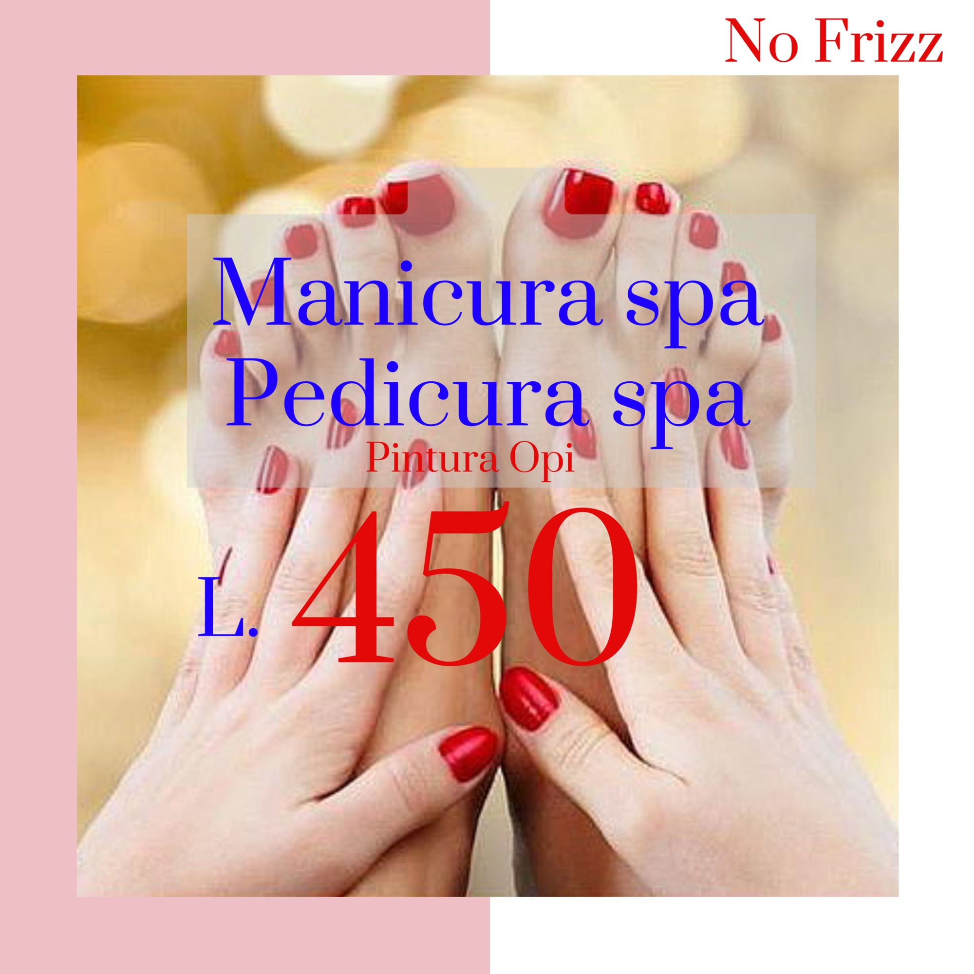 Manicura SPA, Pedicura SPA